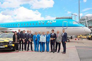 KLM in Nürnberg: Zwei Jubiläen der Airline