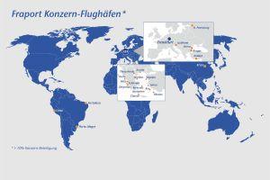 Fraport: August mit wechselhaften Passagierzahlen