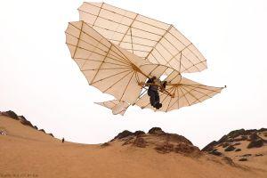 Otto Lilienthal: Erster Doppeldecker beweist sich im Flug