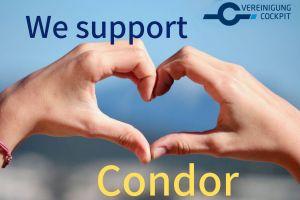 Piloten wollen Hilfe für profitable Condor
