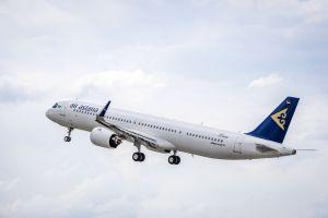 A321LR fliegt jetzt auch für Air Astana