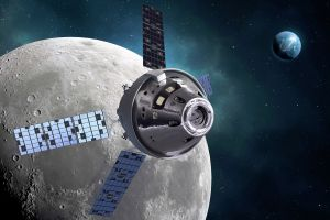 NASA lässt erste Serie an Raumschiffen Orion bauen