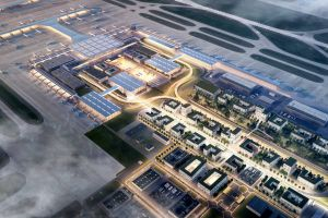 Büro- und Gewerbeland zum Flughafen BER