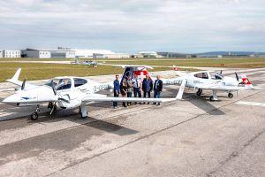 Lufthansa Aviation Training flottet neue DA42 ein