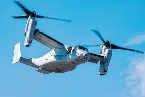 V-22: Kipprotor Osprey erreicht 500.000 Flugstunden