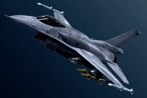 F-16 der Air Force in Deutschland abgestürzt
