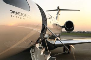 Business Jet Praetor: Ruag holt Embraer ab