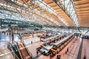 Airlines am Flughafen Hamburg wechseln Terminals
