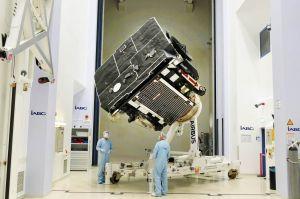 Airbus entlässt Solar Orbiter zum Startplatz