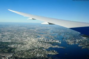 Qantas 787-9 im Rekordflug New York Sydney non-Stop