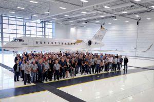 Business Jet Global 5500 schafft noch mehr Reichweite