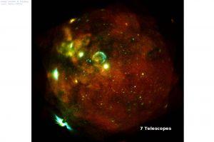 eROSITA fasziniert mit ersten Röntgenfotos vom All