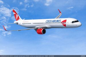 Czech Airlines stockt Flugzeugbestellung bei Airbus auf