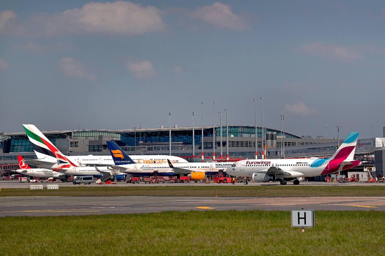 Hamburg Airport Gesperrt