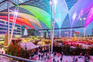 Events zum Advent am Flughafen München