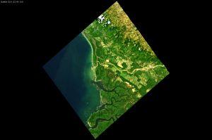 Erdbeobachtung in Farbe: DESIS auf der ISS