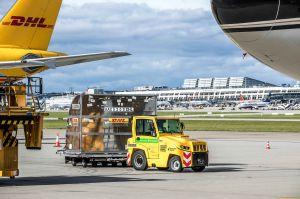 Neue E-Schlepper fürs Vorfeld am Flughafen Stuttgart