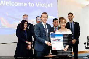 15 A321XLR für Vietjet samt Flugsimulatoren von Airbus