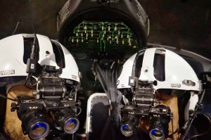 Rettungspiloten meistern Einsatz mit Nachtsichtbrillen