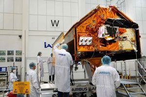 Sentinel-6 erlebt ersten Weltraum in Ottobrunn