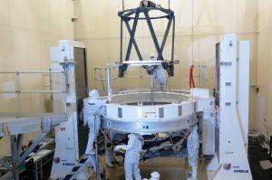 Teleskop für Euclid: Anspruchsvoller Einbau geschafft