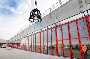 Richtfest für neue Feuerwache am Flughafen Frankfurt