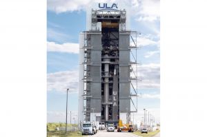 Starliner von Boeing auf Atlas V montiert