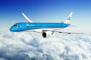 KLM Cityhopper bestuhlt Embraer 195-E2 mit Recaro