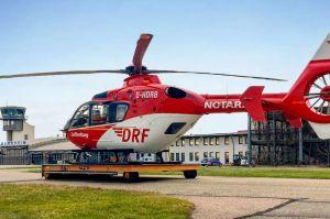 Bluttransport per Rettungshubschrauber rettet Leben