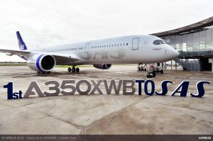 A350 XWB neu bei SAS