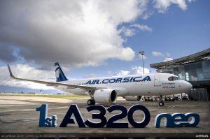 A320neo für Fluggesellschaft von Korsika
