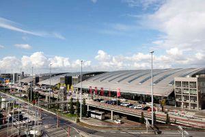 Autobahn zum Flughafen Hamburg gesperrt