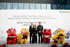 Recaro startet in China weiter durch