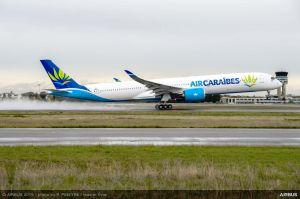 Airbus A350-1000 XWB bei französischer Air Caraïbes