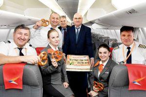 Superjet 100 verbindet München mit Krasnodar