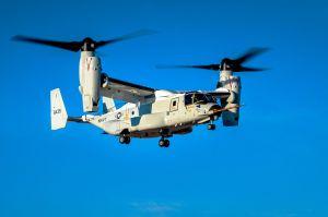 Neuer Osprey CMV-22B bei Bell fliegt zum ersten Mal