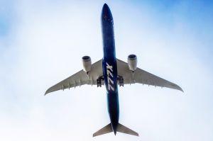 Boeing 777X beim Erstflug: 777-9 über Washington
