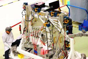 Bartolomeo: Plattform bei der NASA angekommen