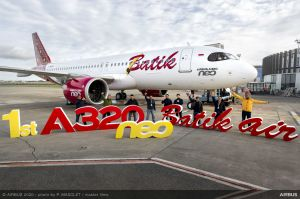 A320neo erstmals bei Batik Air eingeflottet