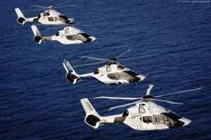 Marine von Frankreich startet mit vier zivilen H160
