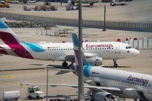 Eurowings setzt sich bei Pünktlichkeit an die Spitze