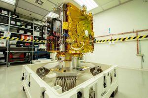 Mikrosatellit ESAIL aus Luxemburg vor dem Start