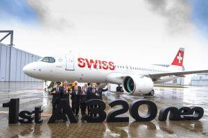 SWISS flottet ersten A320neo ein