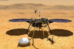 InSight in den Mars: Beben wie im Schwarzwald