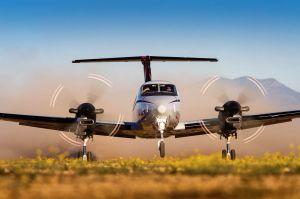 King Air 350 Turboprop für fliegende Ärzte in Australien