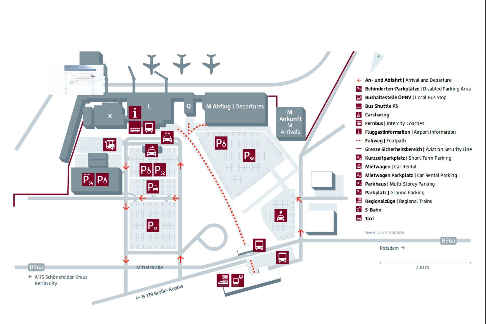Flughafen Schönefeld wird Terminal 20 des neuen BER