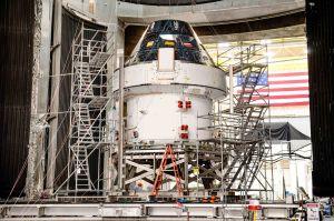 Orion besteht Tests: Zeremonie zum Pre-Launch