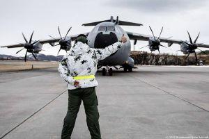 Luftwaffe mit A400M für Cold Response in Norwegen