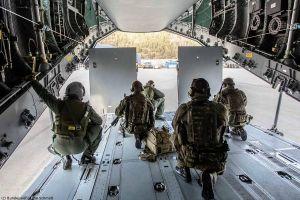 A400M der Luftwaffe bei ERO in Norwegen