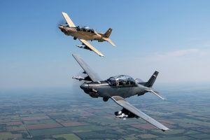 AT-6 Wolverine für Air Force in Nevada